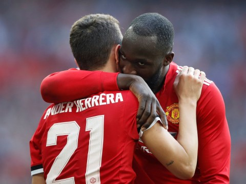 Romelu Lukaku first touch so BAD it leads to winning FA Cup semi-final goal for Manchester United
