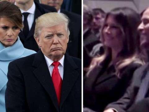 Melania Trump 'happier at a funeral with Obama' in picture without husband Donald