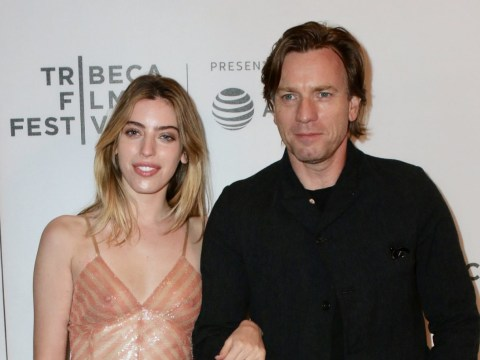Proud Ewan McGregor walks red carpet with daughter days after she poses nude for Playboy