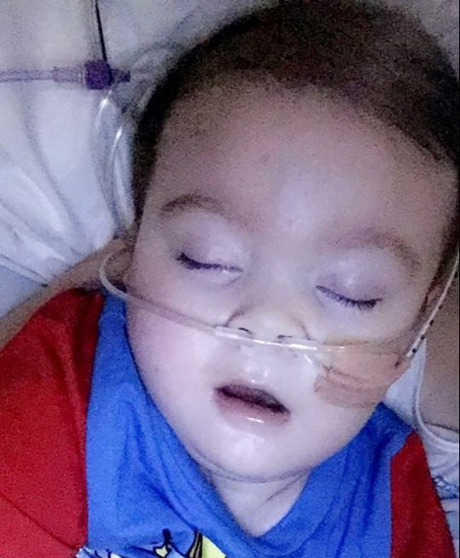 Alfie Evans - taken from facebook