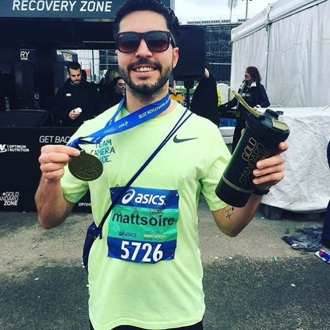 Picture: Instagram/ mattsoire People are planning on running the last 3.7 miles for Matt Campbell who died in London Marathon