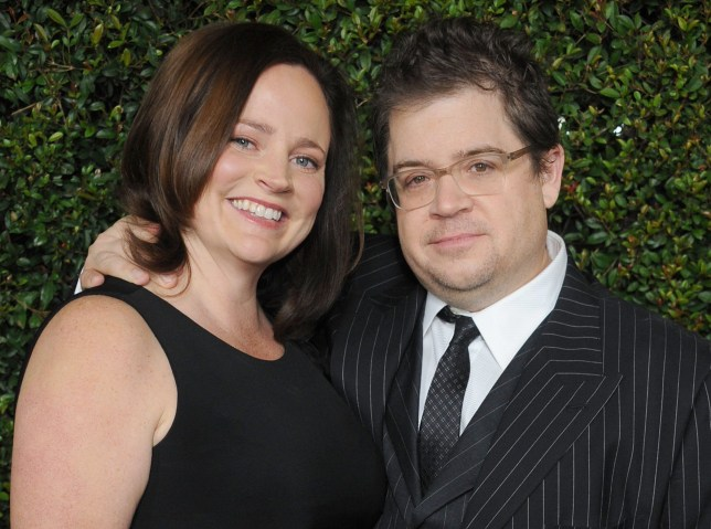"BEVERLY HILLS, CA - DECEMBER 15: Actor Patton Oswalt and wife Michelle McNamara arrive at the ""Young Adult"" Los Angeles Premiere at AMPAS Samuel Goldwyn Theater on December 15, 2011 in Beverly Hills, California. (Photo by Gregg DeGuire/FilmMagic)"