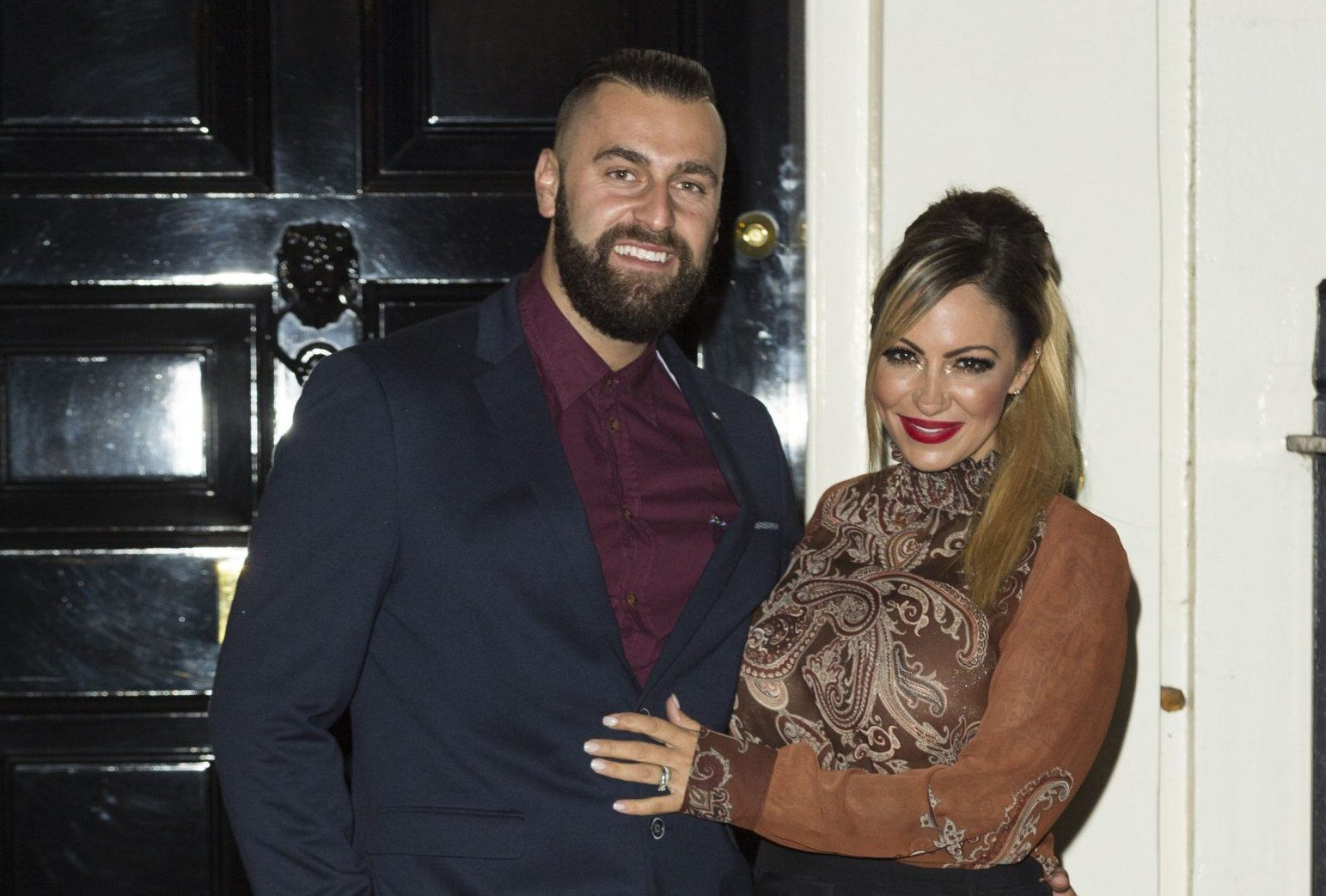 Mandatory Credit: Photo by Ray Tang/REX/Shutterstock (5300730e) James Placido and Jodie Marsh #DASWEET16 16th Anniversary, London, Britain - 26 Oct 2015