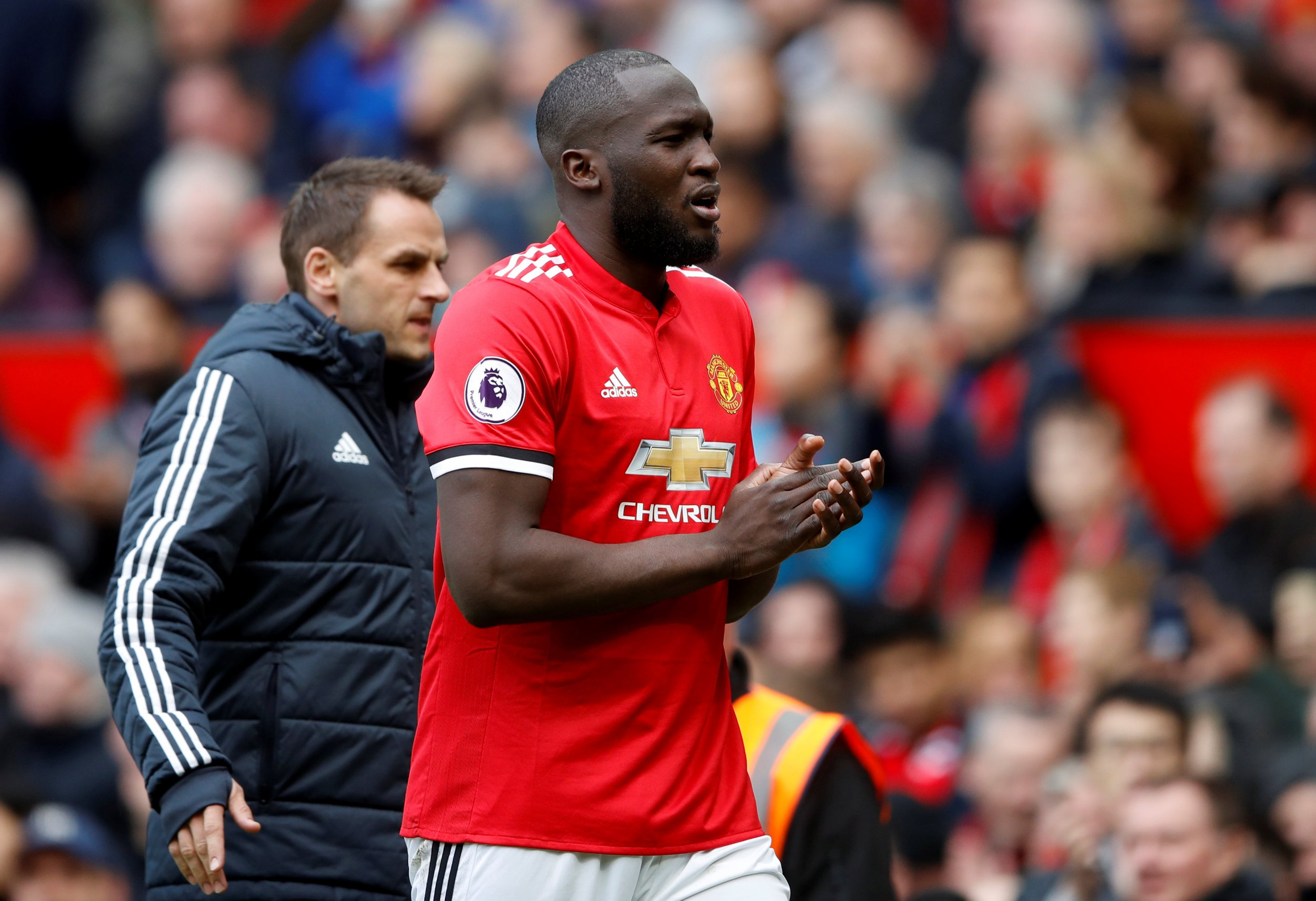 Romelu Lukaku gives injury update to Manchester United fans before FA Cup final against Chelsea