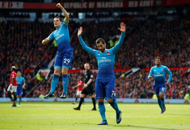 Henrikh Mkhitaryan first to score for and against Man U in single