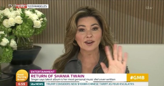 Shania Twain would be keen on a duet with Harry Styles