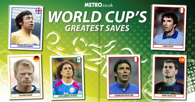 Best World Cup saves (Andrew)