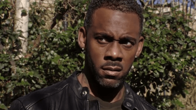 Richard Blackwood as Vincent Hubbard in EastEnders