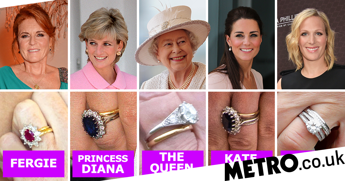 9+ Meghan Markle Diana Ring
