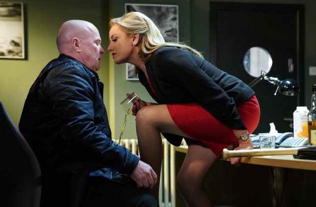 Mel makes a move on Phil in EastEnders