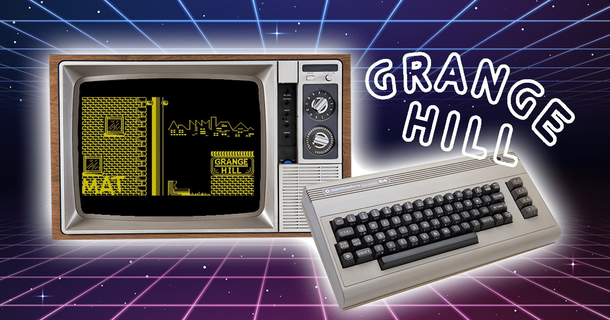 WTF! Grange Hill The Computer Game?! Yeah, remember this bad boy