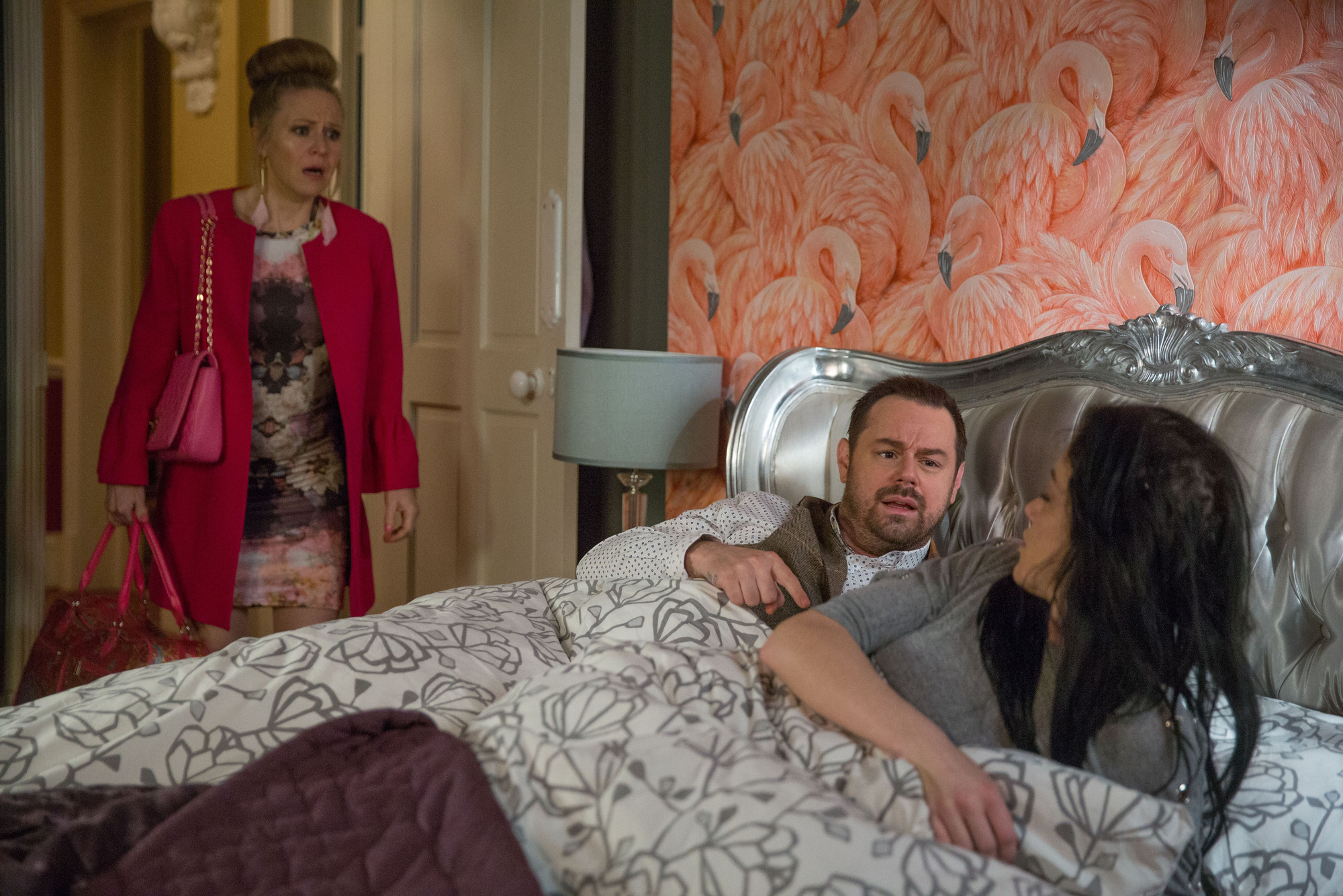 EastEnders spoilers: Linda Carter finds Mick in bed with Hayley Slater