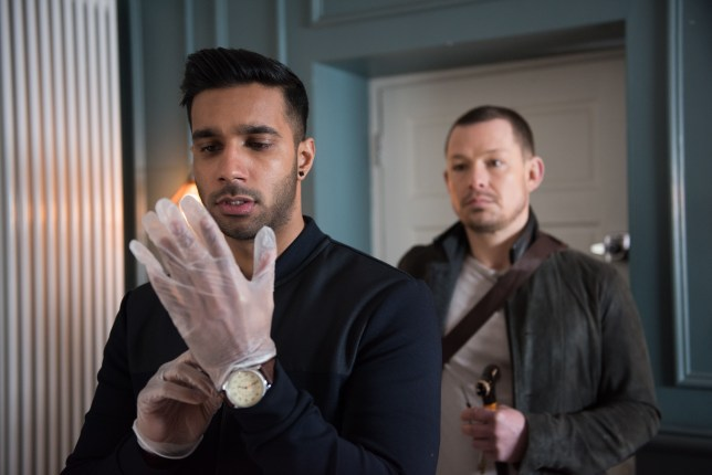 Kyle and James make a shocking plan in Hollyoaks