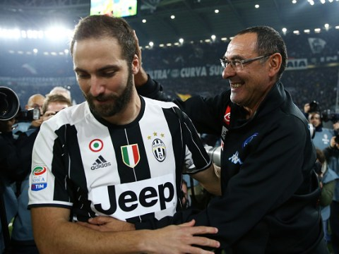 Maurizio Sarri wants reunion with Gonzalo Higuain if he moves to Chelsea