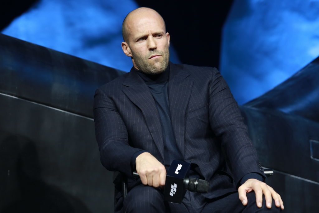 Jason Statham apologises for 'using homophobic slur' in unearthed recording
