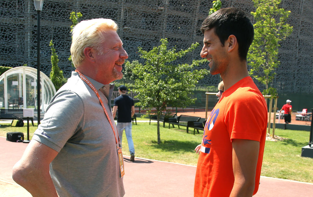Bring Boris Becker back? Novak Djokovic discusses if he'll make further changes to his team