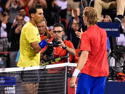 Denis Shapovalov pays tribute to Rafael Nadal for helping him turn clay-court season around