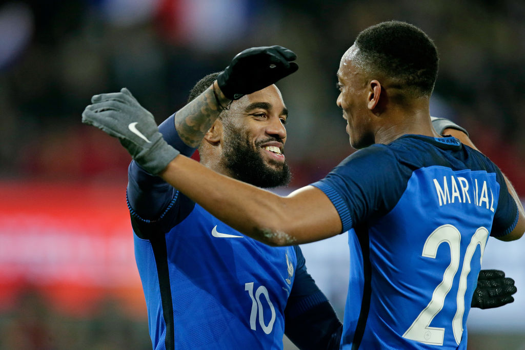 Didier Deschamps explains why he left Anthony Martial & Alexandre Lacazette out of France's World Cup squad