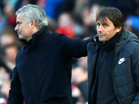 Antonio Conte and Jose Mourinho ended feud at Old Trafford over a drink