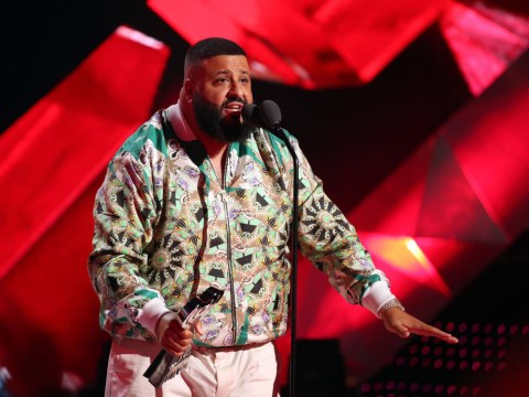 DJ Khaled pulls out of Wireless performance 'due to travel issues' as he posts picture from infinity pool: 'Still on vacation!'