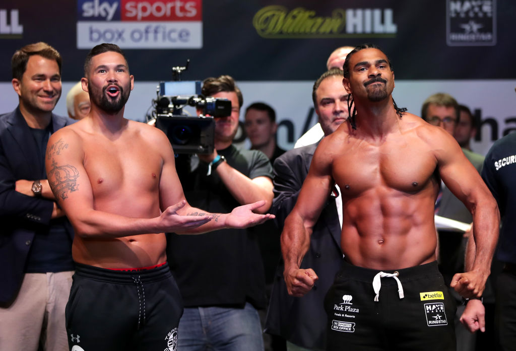 What time is David Haye vs Tony Bellew II? Fight times for main event and undercard