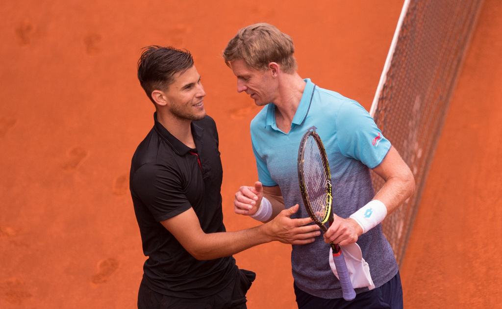 Kevin Anderson in no doubt Dominic Thiem is Rafael Nadal's biggest challenger on clay