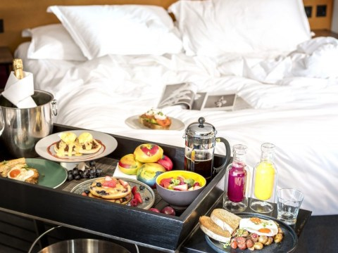 Hotel launches UK's first bottomless brunch that's delivered to your bed
