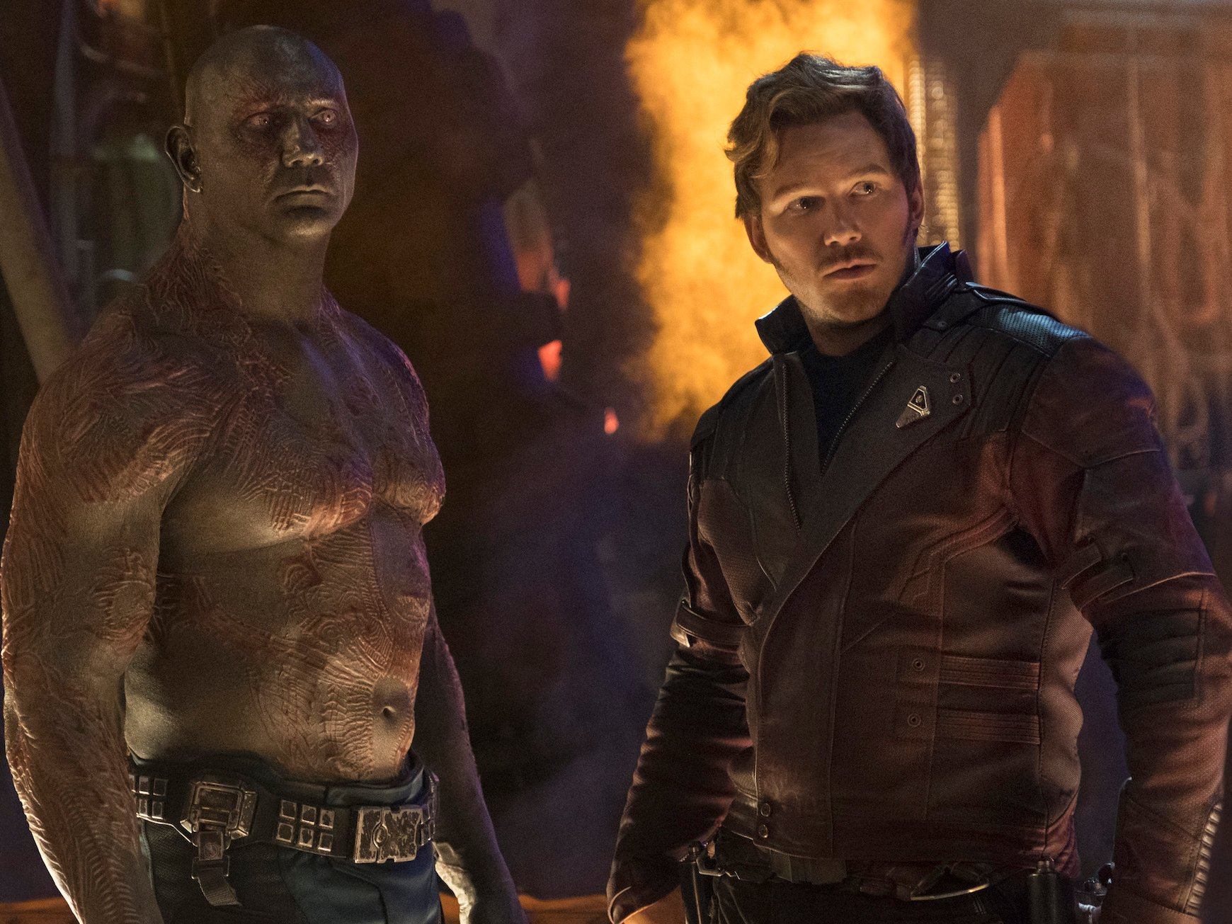 The funniest line in Avengers: Infinity War was improvised thanks to Drax star Dave Bautista