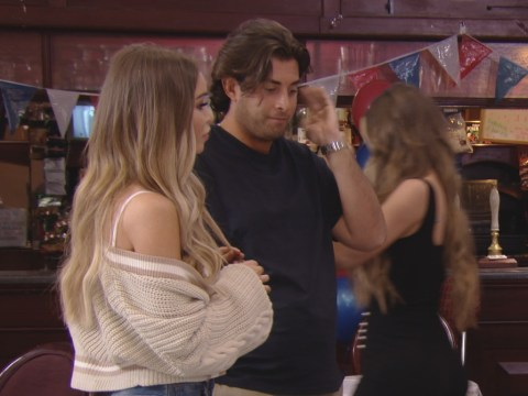 James Argent shunned by Chloe Sims in tense spat at Towie royal wedding party