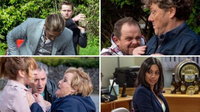 Emmerdale spoilers for Lachlan, Daz, Dan, Brenda, Laurel and Priya