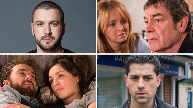 Coronation Street spoilers for Aidan, Jenny, Johnny, David, Shona, Josh