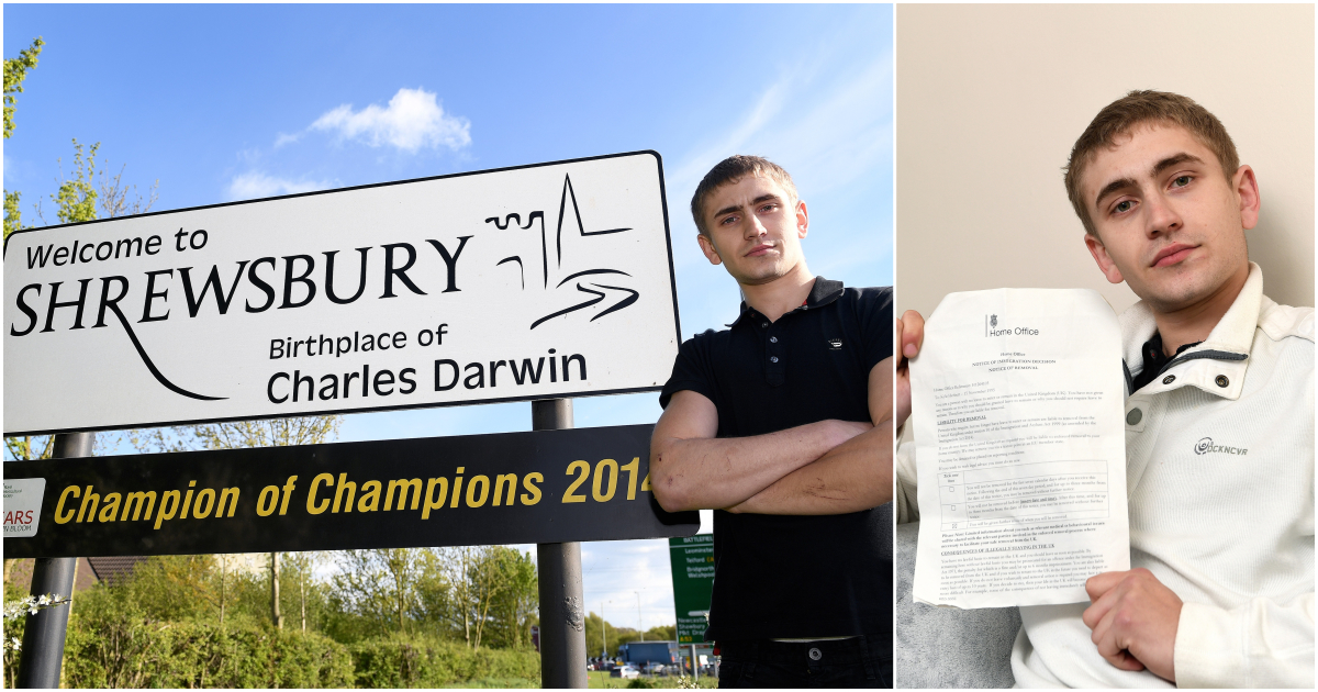 Home Office threatened to deport man born in Shrewsbury all the way to Uganda