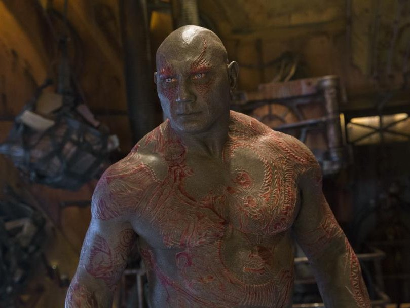 Dave Baustista will 'quit' Guardians Of The Galaxy if Marvel don't use James Gunn's script