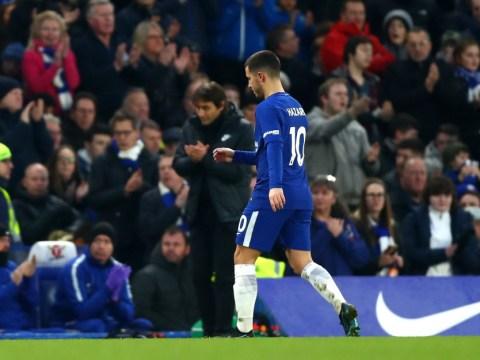 Eden Hazard's relationship with Antonio Conte broke down after Manchester City defeat