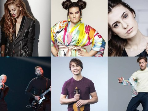How do you rate the six Eurovision Song Contest 2018 favourites?