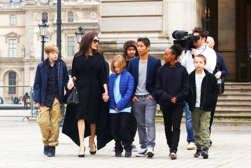 Angelina Jolie furious as she 'can't bring kids to UK due to Brad Pitt divorce talks'