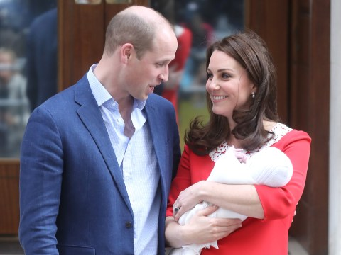 When is Prince Louis' christening and when will we next see him in public?