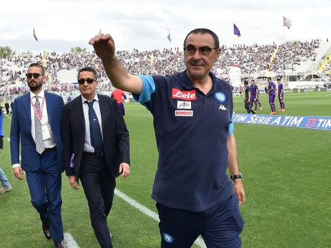 Maurizio Sarri's agent jets in to London for Chelsea talks after Napoli sacking