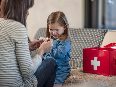 What all parents should keep in their first aid kit for babies and children