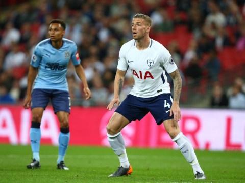 Tottenham Hostpur name Toby Alderweireld price as Manchester United talks begin