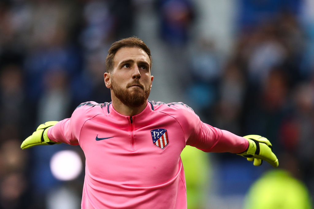 What is Liverpool target Jan Oblak's release clause?