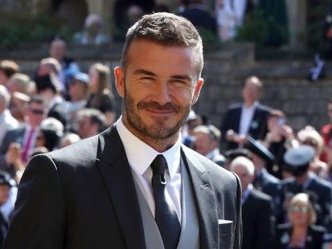 David Beckham looked like a king at the royal wedding and people are still not over it