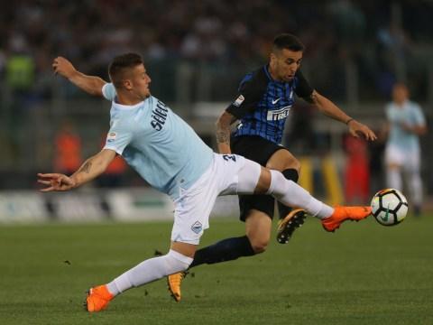 Manchester United encouraged in pursuit of Lazio midfielder Sergej Milinkovic-Savic