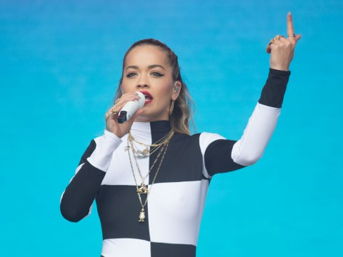 Rita Ora handles technical difficulties like a champ at Radio 1 Biggest Weekend and fans are none the wiser