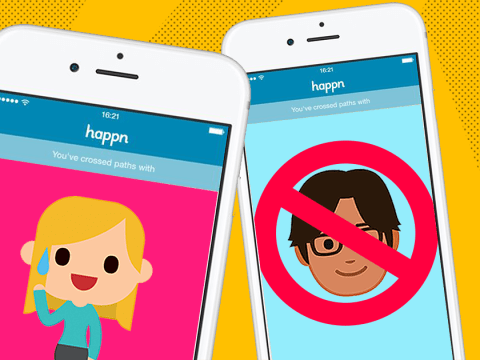Happn adds invisible mode so you won't risk matching with your boss