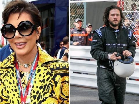 Kris Jenner has never looked so extra and Kit Harington is now a racecar driver as celebs take over Monaco Grand Prix