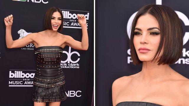 Jenna Dewan debuts dramatic break-up haircut at first Billboard awards following Channing Tatum split