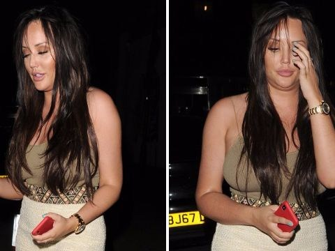 Charlotte Crosby looks all partied out as she emerges from wild 28th birthday bash
