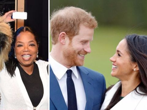 Oprah 'to attend royal wedding' after she is spotted living it up in London