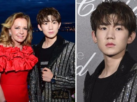 Teen Chinese superstar Roy Wang attends Cannes Film Festival ahead of L'Oreal talk
